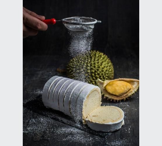 Premium Durian Swiss Roll (Whole)